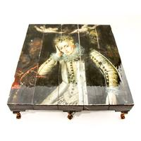 Grand Queen Reclaimed Coffee Table by Cappa E Spada
