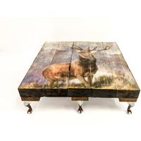 Grand Highland Stag Coffee Table by Cappa E Spada