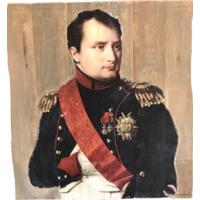 French Oak Napoleon Wall art