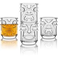 Tiki Tumblers - Set of 4