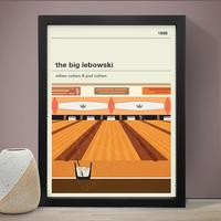 The Big Lebowski Art Print by Red Candy