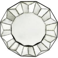 Santiago Antique Round Mirror by The Libra Company