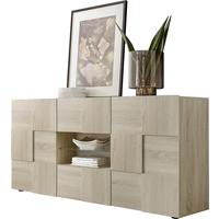 Treviso Sideboard - Two Doors/ Two Drawers Samoa Oak Finish by Andrew Piggott Contemporary Furniture