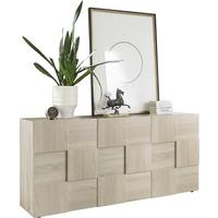 Treviso Sideboard - Three Doors Samoa Oak Finish by Andrew Piggott Contemporary Furniture