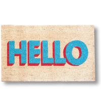Hello Doormat by Red Candy