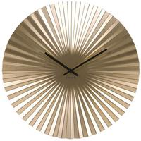 Karlsson Sensu Clock Medium - Gold by Red Candy