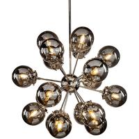 Orion Smoke 18 Bubble Pendant E14 40W by The Libra Company
