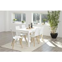 Angala dining table and 4 Milten chairs