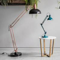 Giant Floor Lamp - Black & Bronze by Red Candy