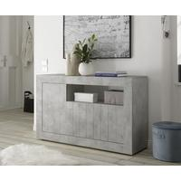 Como Three Door Sideboard Inc. LED Spotlight - Grey Finish by Andrew Piggott Contemporary Furniture