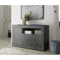 Como Three Door Sideboard Inc. LED Spotlight - Anthracite Finish by Andrew Piggott Contemporary Furniture