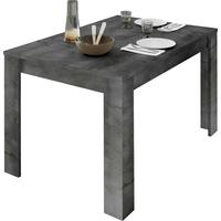 Como 137cm Dining Table with 48cm Extension - Anthracite Finish