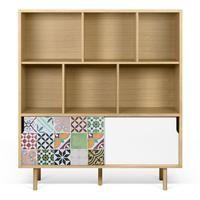 Dann (tiles) cupboard by Icona Furniture