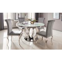 Briona round dining table by Icona Furniture