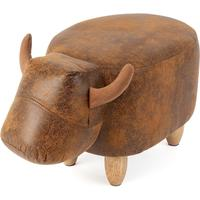 Benton the Bull Footstool by Red Candy