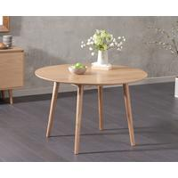 Harstad Oak round dining table by Icona Furniture