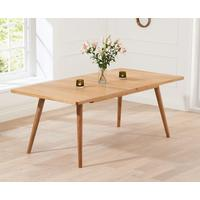 Staten Oak extending dining table by Icona Furniture