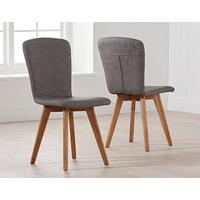 Staten (faux leather) dining chair by Icona Furniture