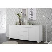 Bergamo Collection Two Door/Three Drawer Sideboard - Matt White  by Andrew Piggott Contemporary Furniture