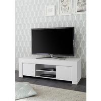 Bergamo Collection TV Unit - Matt White  by Andrew Piggott Contemporary Furniture