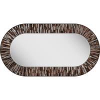 Stadium PIAGGI brown glass mosaic mirror