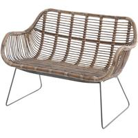 Toba Rattan Bench by The Libra Company