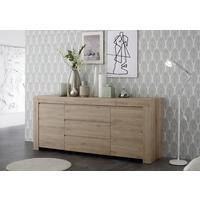Bergamo Collection Two Door/Three Drawer Sideboard - Kadiz Oak Finish by Andrew Piggott Contemporary Furniture