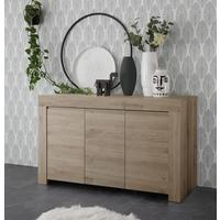 Bergamo Collection Three Door Sideboard - Kadiz Oak Finish by Andrew Piggott Contemporary Furniture