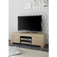 Bergamo Collection TV Unit - Kadiz Oak Finish  by Andrew Piggott Contemporary Furniture