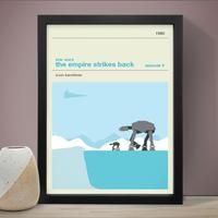 Star Wars The Empire Strikes Back Art Print