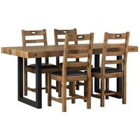 New York dining table and chairs by Icona Furniture