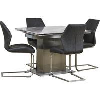 Tremiti extending table with 4 chairs by Icona Furniture