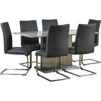 Turin dining table and chairs by Icona Furniture