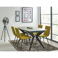 Soho extending table with 4 Vesterbro chairs