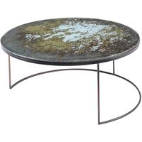 Rocky Antique Mirror Coffee Table Large Bronze