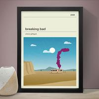Breaking Bad Art Print by Red Candy
