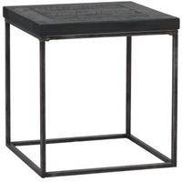 Hadley Charcoal Square Coffee / Side Table Dark Pine