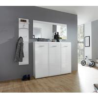 Adelle Three Door Hallway Shoe Storage - White by Andrew Piggott Contemporary Furniture