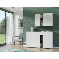 Viktor Wall Unit - White and Graphite Finish by Andrew Piggott Contemporary Furniture