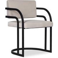 Dylan Art Deco Velvet Dining Chair with Metal Frame