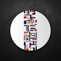 Abstract Single Mosaic Mirror