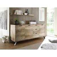 Palma Sideboard Three Doors/Three Drawers - San Remo Oak finish by Andrew Piggott Contemporary Furniture