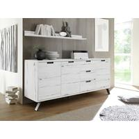 Palma Sideboard Three Doors/Three Drawers - White Oak finish by Andrew Piggott Contemporary Furniture