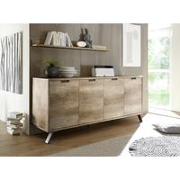 Palma Four Door Sideboard - San Remo Oak finish by Andrew Piggott Contemporary Furniture
