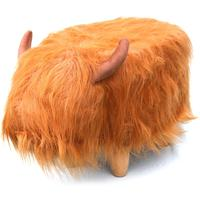 Hamish the Highland Cow Footstool