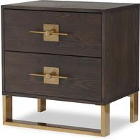 Ophir Bedside Table 2 Drawers by Liang & Eimil