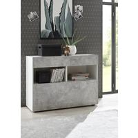 Salerno Sideboard - White and Grey Finish