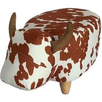 Caesar the Cow Footstool