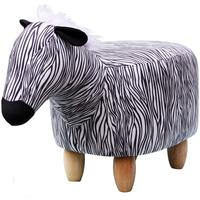 Zelda the Zebra Footstool