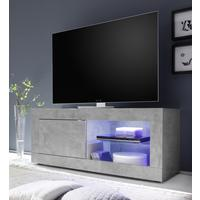 Urbino Collection Small TV Unit with Optional  LED Spot Light - Grey Finish by Andrew Piggott Contemporary Furniture